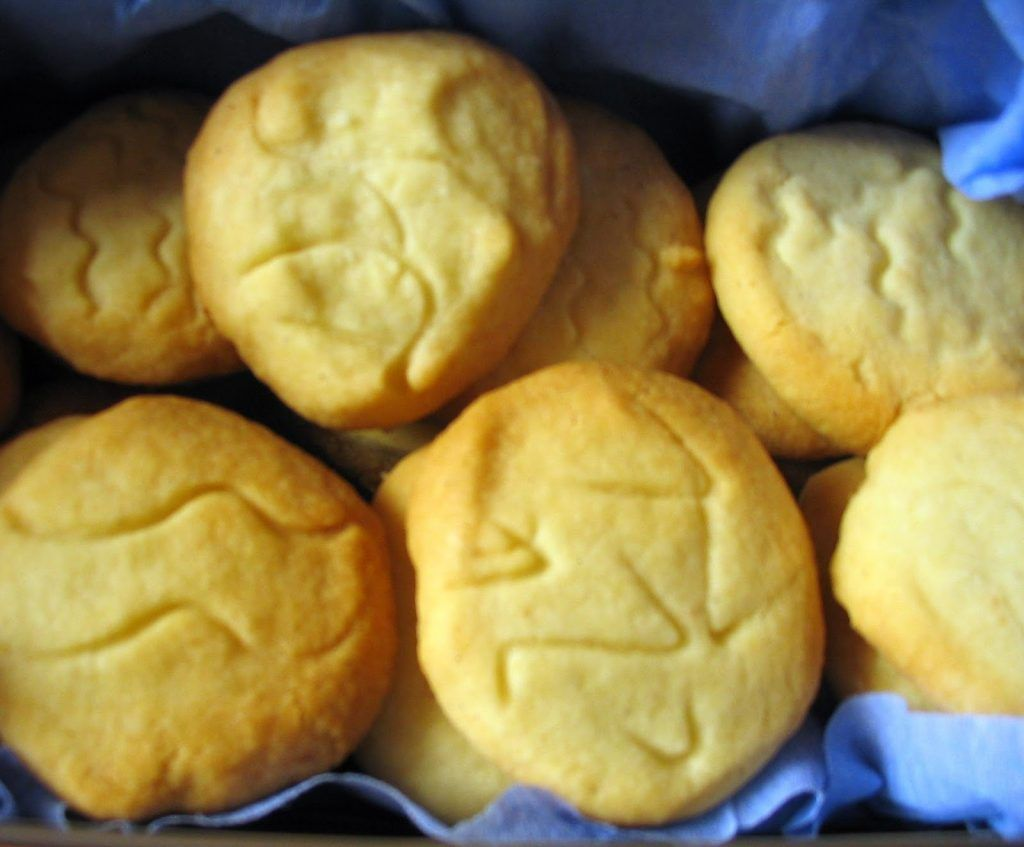 Ricas galletas de vainilla sin lactosa caseras