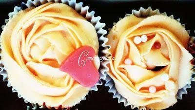 Receta de cupcakes de naranja y chocolate aptos para intolerantes a la lactosa