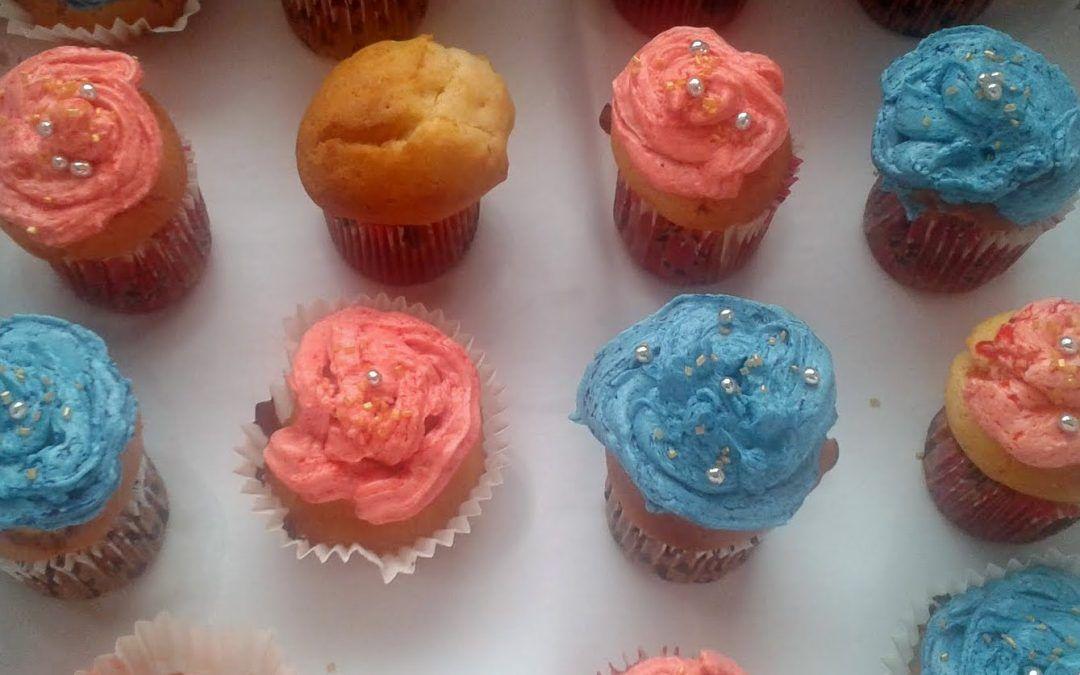 Cupcakes sin lactosa