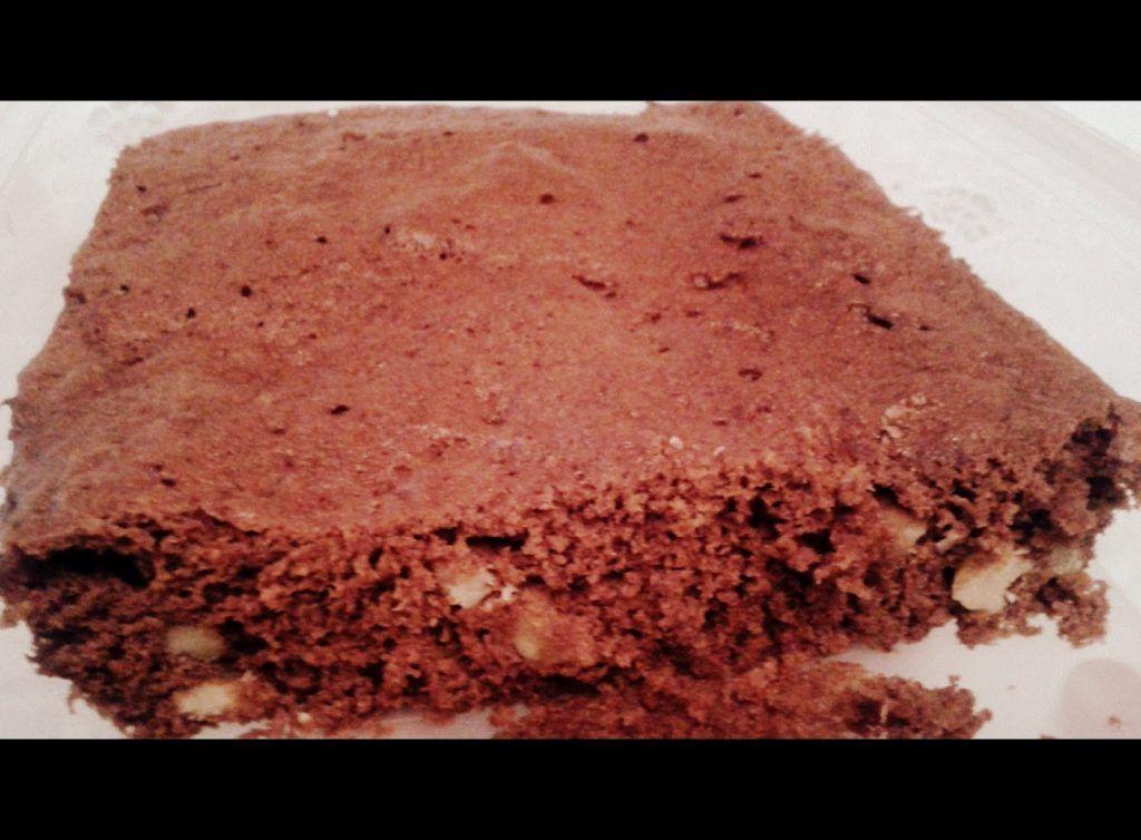 Receta para aprender a hacer un brownie sabroso en microondas