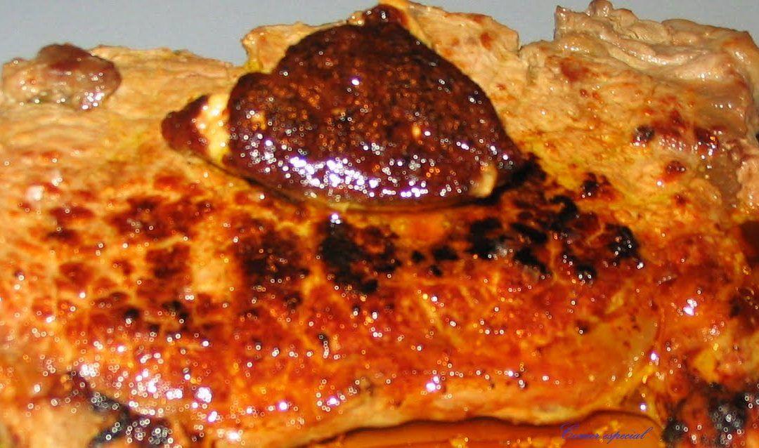 Solomillo de ternera con foie fresco