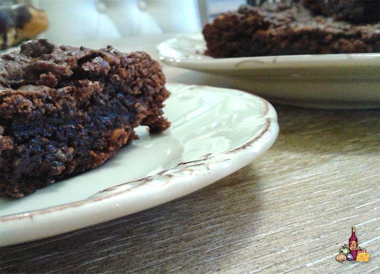 Brownie con nueces y sin lactosa