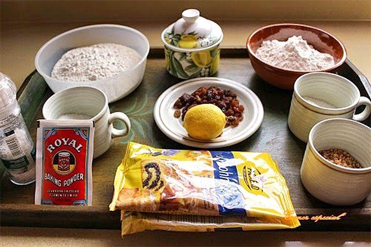 Ingredientes: 250 gramos de harina, 50 gramos de azúcar, una pizca de sal, 80 gramos de aceite de oliva suave (o mezcla 40 girasol y 40 oliva), medio sobre de levadura, 10 gramos de azúcar avainillado y un huevo.