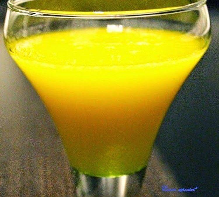Smoothie de mango y melón