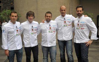 Ganadores de la semifinal de cocinero del año celebrada en Tenerife