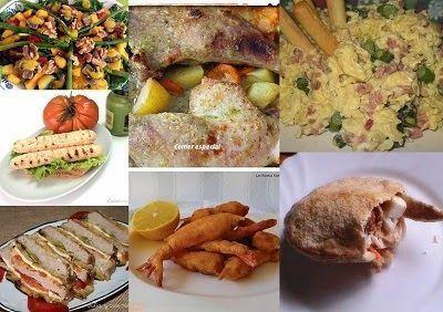 Quinto menú semanal para cenas