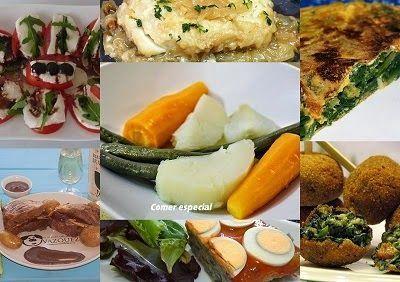 Undécimo menú semanal para cenas