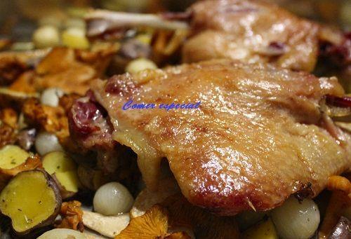 Confit de pato al horno