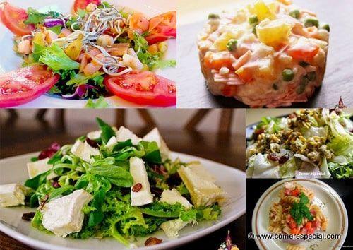 5 ensaladas de verano