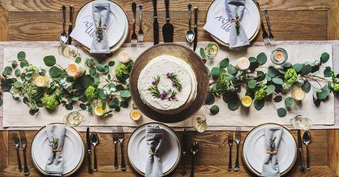Cómo decorar tu mesa de comedor