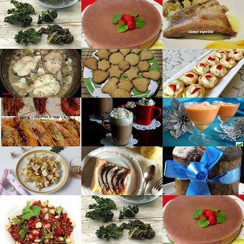 Menús navideños II: 18 recetas de Navidad