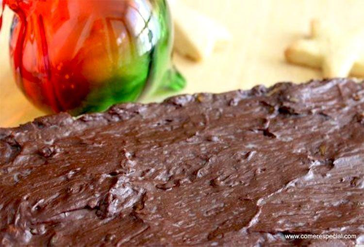 Turrón de chocolate y pistacho