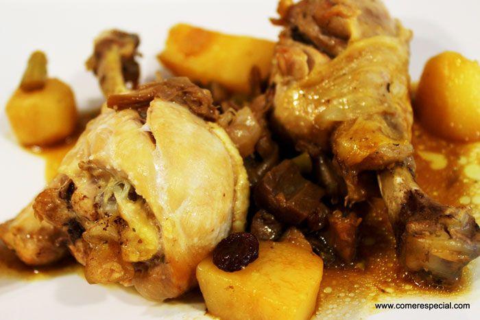 Pollo con verduras en olla Gm Deluxe