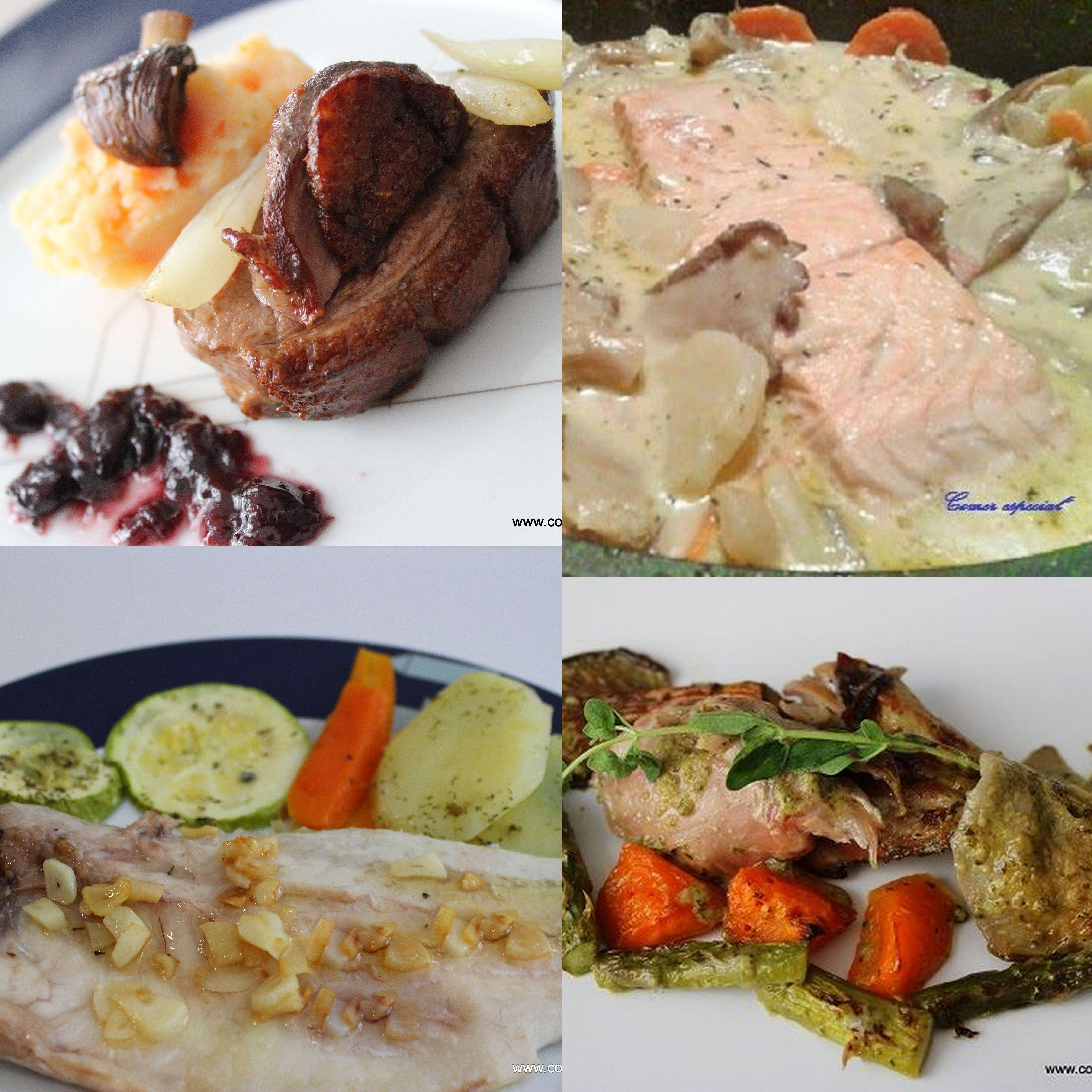 Recetas fáciles de carnes y pescados