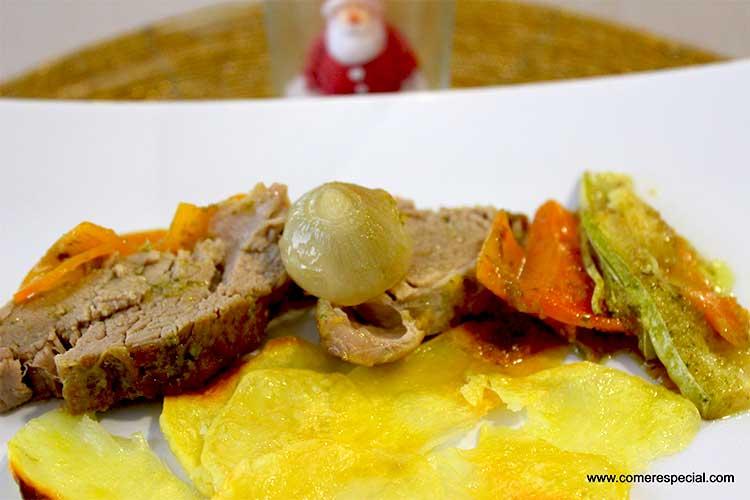Solomillo de cerdo ibérico, receta fácil para Navidad