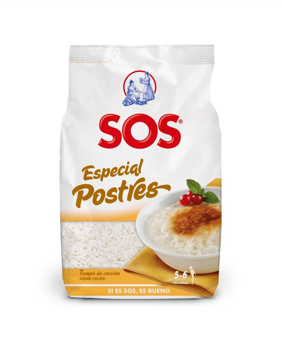 Arroz SOS especial postres