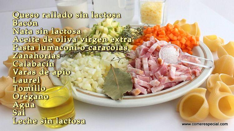Ingredientes galet