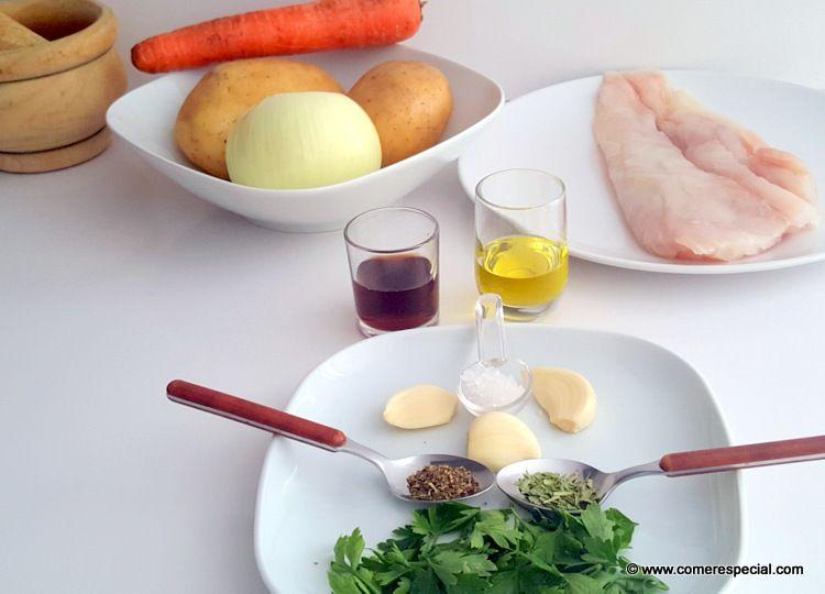 Ingredientes para hacer pescado