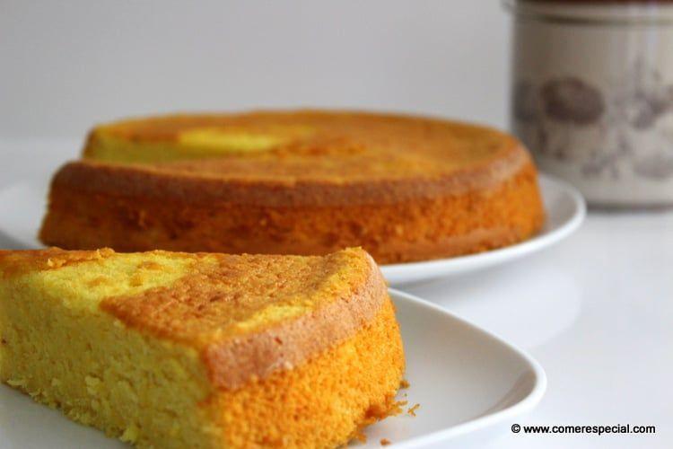 Receta casera de pastel