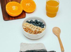 Desayuno saludable sin lactosa